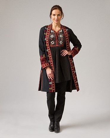 Afghan Embellished Coat