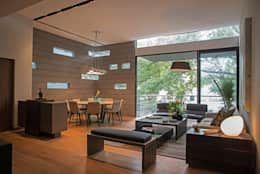 Condominio PH Andersen: Comedores de estilo moderno por Faci Leboreiro Arquitectura https://www.homify.com.mx/libros_de_ideas/674720/7-espectaculares-departamentos-disenados-por-arquitectos-mexicanos