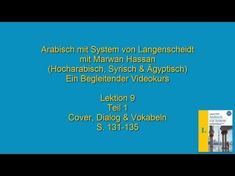 Arabischkurs online 031 :: Lektion 9 Teil 1. Arabisch mit System von Langenscheidt - YouTube