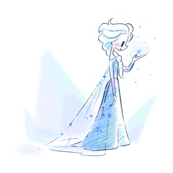 Cutie Frozen Elsa by princekido.deviantart.com on @deviantART
