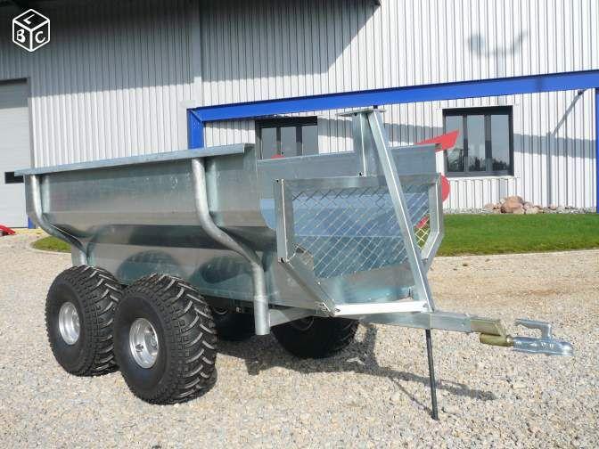 Remorque forestière MP20 Quad/Tracteur CMS