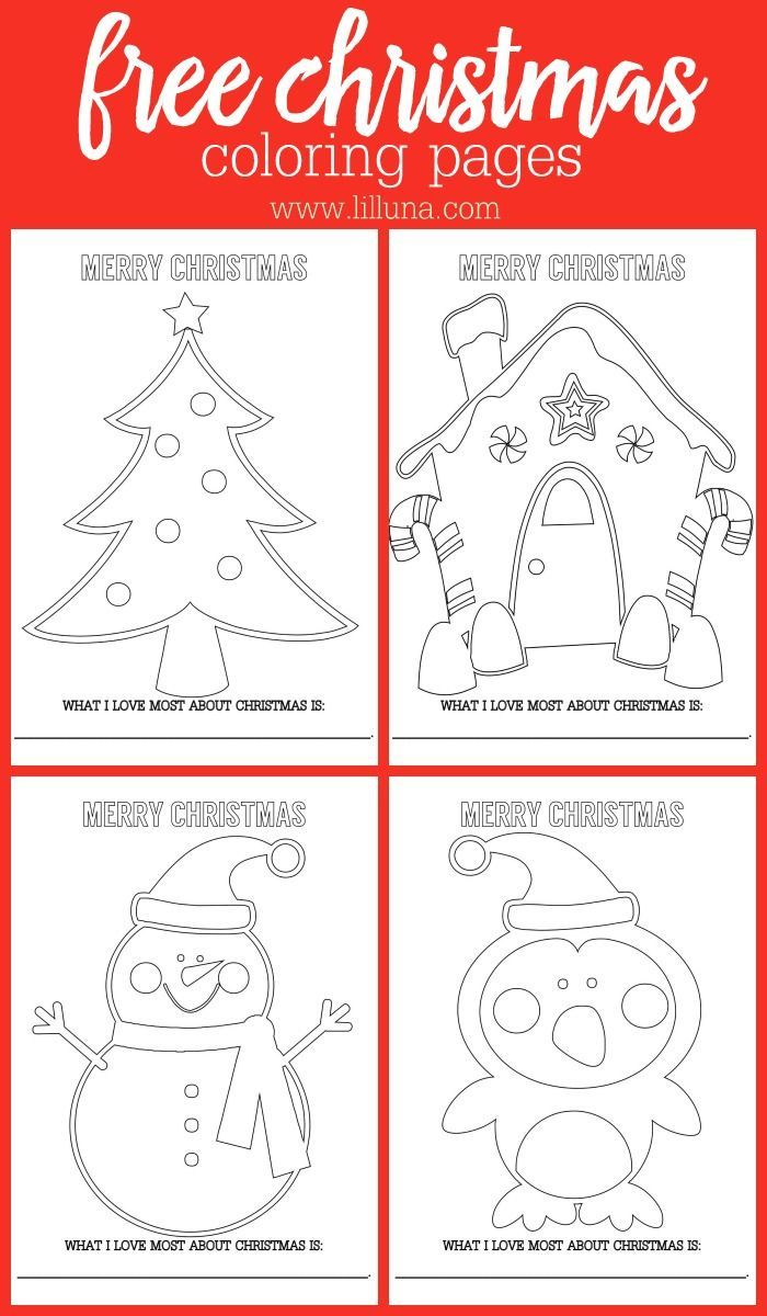 Kids christmas coloring and activity sheets - Free Christmas Coloring Pages Get The Free Printable Kids Activity That Is