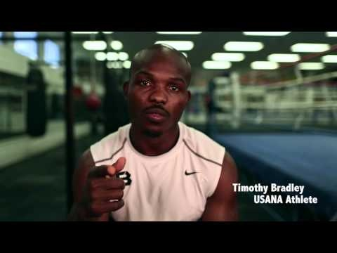 """USANA-sponsored boxer Timothy """"Desert Storm"""" Bradley and Manny """"Pac Man"""" Pacquiao will square off with a world welterweight title on the line....June 9, 2012"""