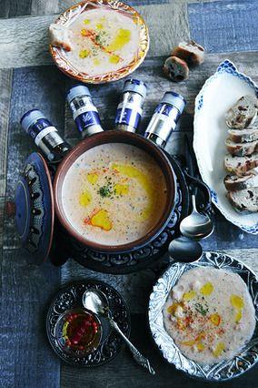香りのご馳走スープ 身体目覚めるクミンとタイムの牛蒡チャウダー 市販のスープ缶で簡単作り置き レシピブログ