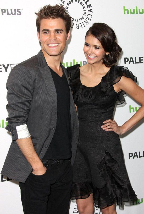 The Vampire Diaries - Paul Wesley and Nina Dobrev