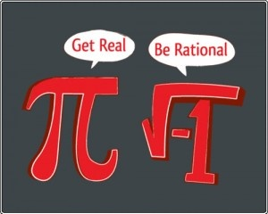 funny quote poster image - maths