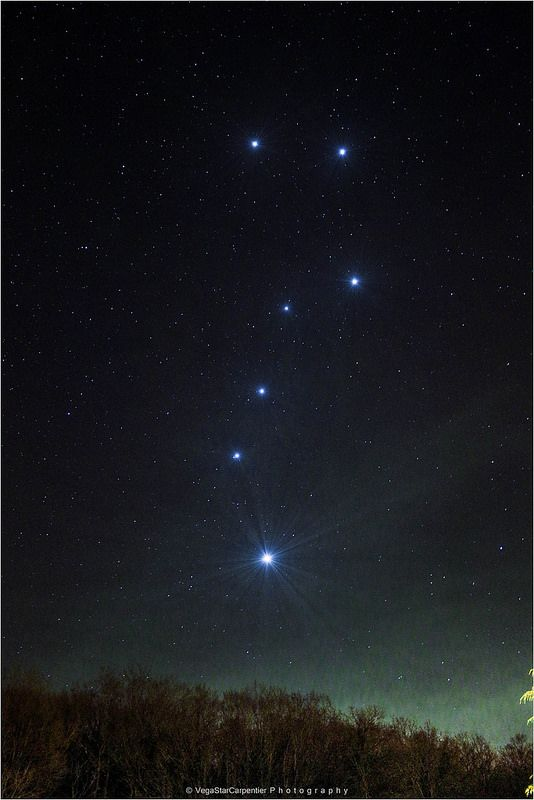 Jupiter came from the heavens and created the Big and Little Dipper.