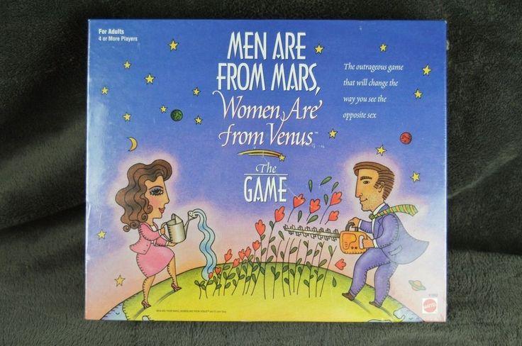 #MenAreFromMarsWomenAreFromVenus #Board #Game #1998 #*NEW* #FactorySealed #Mattel#Men#Are#From#Mars#Women#Are#From#Venus#BoardGame