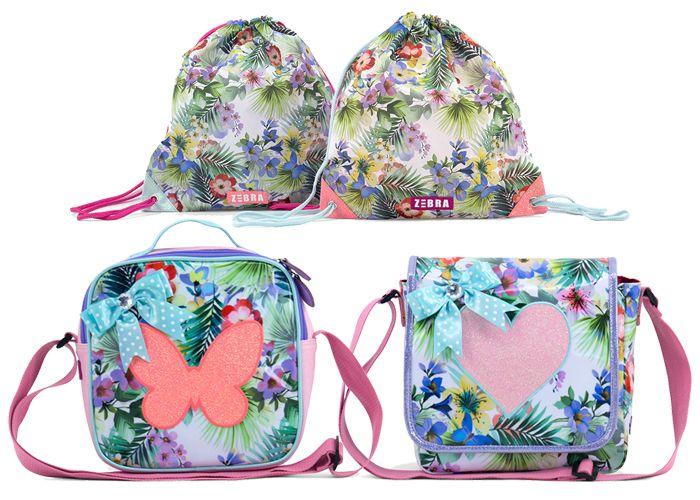 Tassen met een zomerse print van tropische bloemen en palmbomen. Kies jouw favoriet! www.zizimala.nl