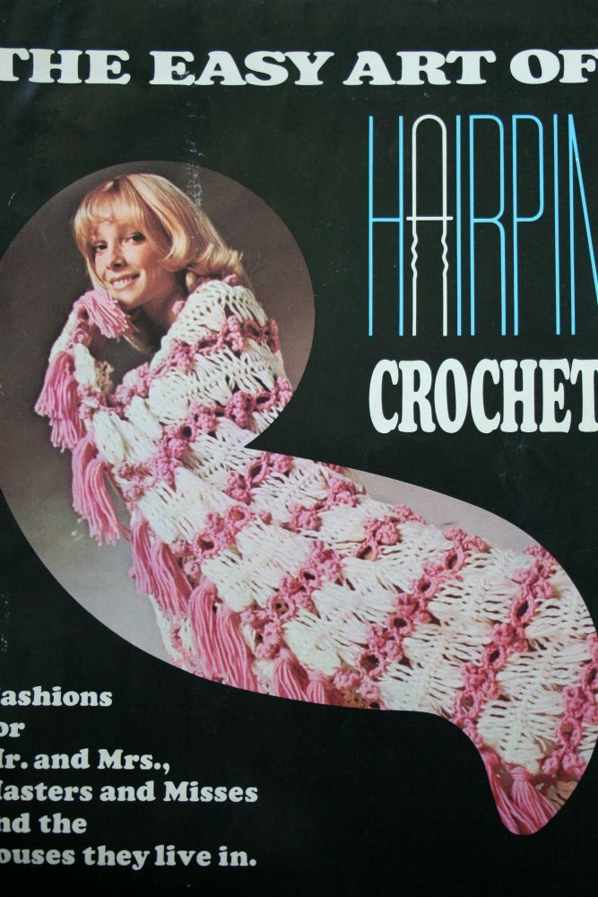 Hairpin Crochet Patterns The Easy Art of Hairpin Crochet Vintage Paper Original NOT PDF by elanknits on Etsy