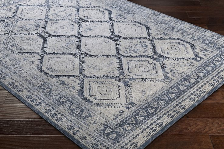 Durham Collection of transitionally styled area rugs have a vintage look ideally suited for home decor or to add a classic look to your professional office. Traditional motifs rise through a strong color palette to create artful, tasteful floor coverings for today's fashion-forward home or office. #boutiquerugs #home #homedecor #homedecoration #homedesign #homeoffice #rugs #familyroom #livingroomdecor #livingroom #diningroomdecor #diningroom #lifestyle #luxuryliving #luxuryhomes…