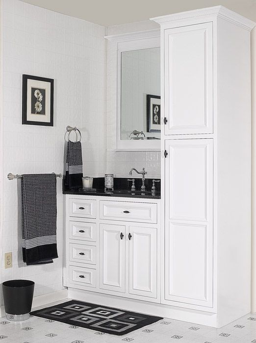 guest blogger innovative affordable kitchen cabinetry bathroom cabinet storagewhite