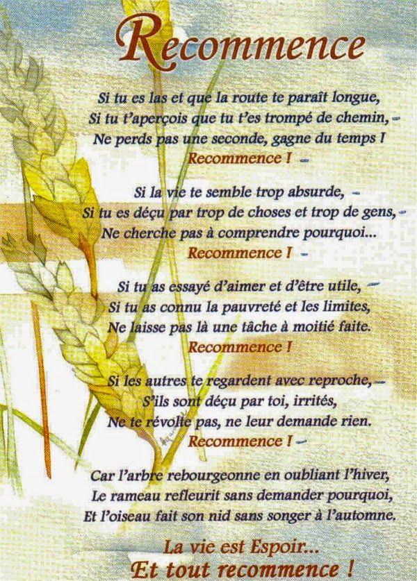 Citations option bonheur: RECOMMENCE !