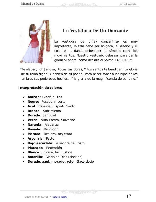 Manual de danza cristiana | libro de danzas cristiana | Worship ...