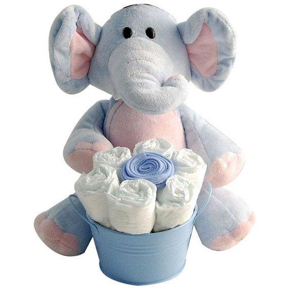115 best elephant baby shower images on pinterest elephant baby blue diaper caddy gift basket for boy baby shower gift newborn baby gift hospital baby gift baby gift set negle Images
