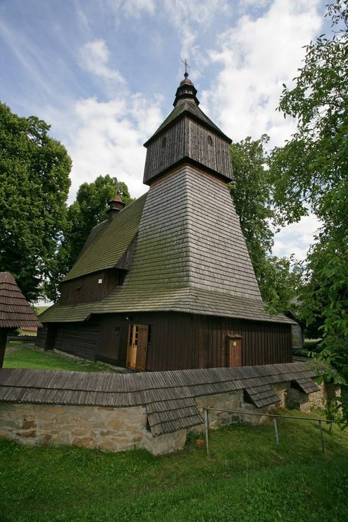 Wooden church in Hervartov