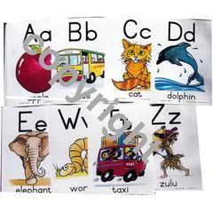 A - Z Alphabet Charts: A4