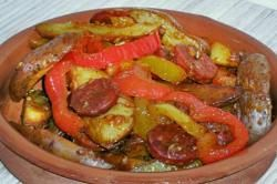recette de cuisine pommes de terre à l'Espagnole