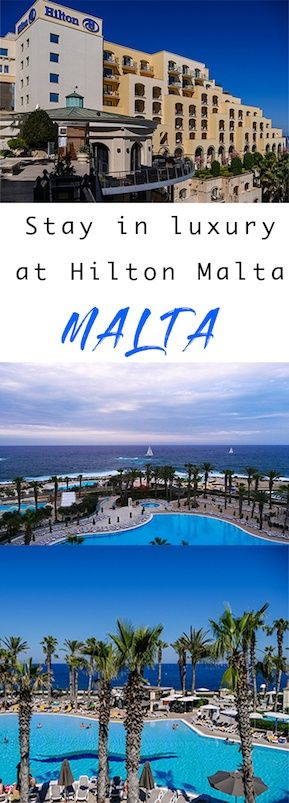 Hilton Malta - A great 5 star hotel in Malta on the Mediterranean waterfront. Perfect for a relaxing holiday or to use as a base for exploring all of Malta.