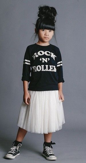Top and skirt. Rock Your Kid.