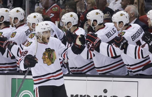 Patrick Kane, Blackhawks force Game 7 with win over LA Kings....Kaner is King!!!!!