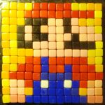 Mosaic Super Mario - Minecraft theme would be great, too