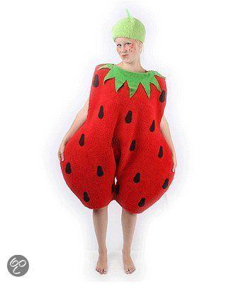 bol.com   Aardbei kostuum volwassenen 42 (xl)   Speelgoed