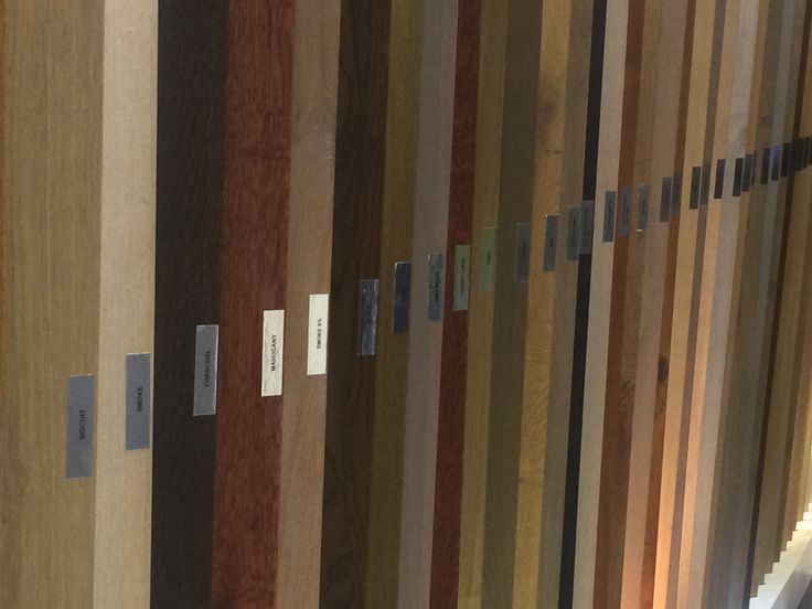 A vast array of colours available.   Pictures from our stand at Grand Designs Live 29-31 May 2015 #gdlsa15 #flooring #forestflooring
