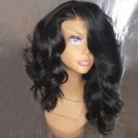 Perruques courtes pour femmes noires Perruques courtes avec frange pour afro-américain