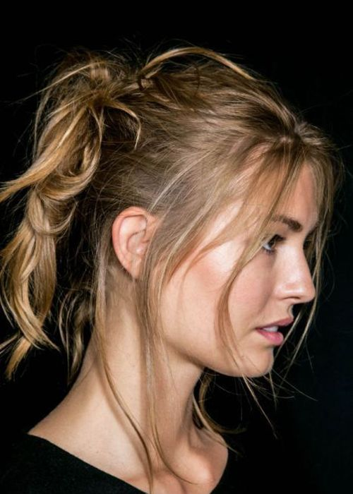 Messy High Ponytail Latest 15 Best Ponytail Collection 2017