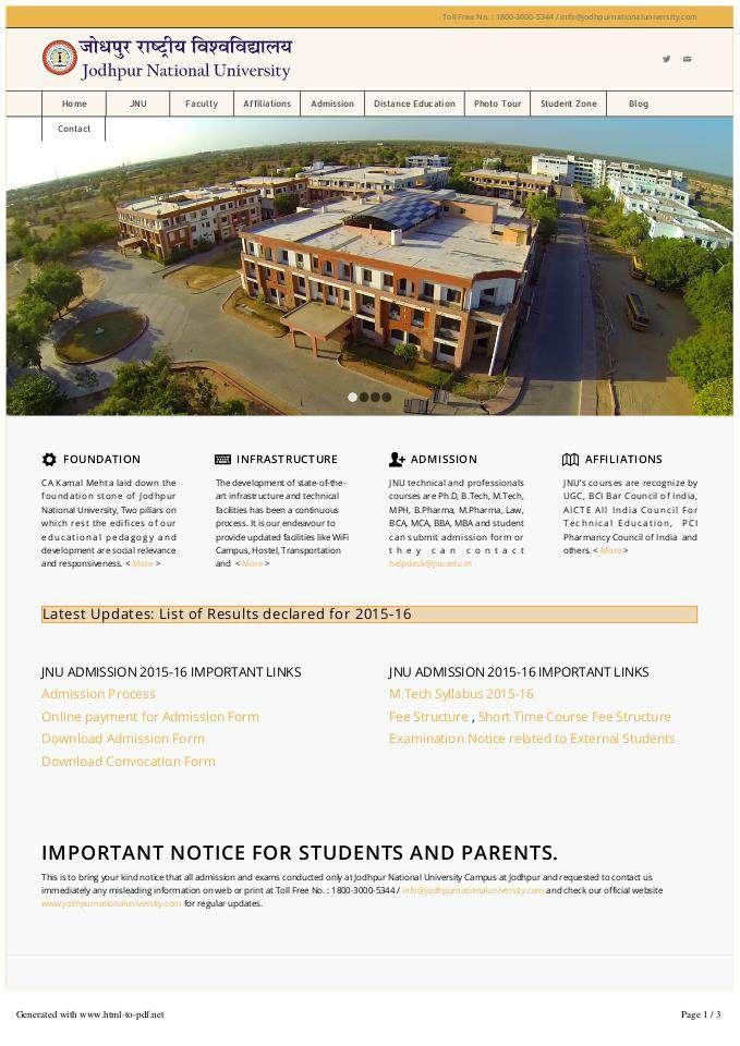 #KamalMehta #JodhpurNationalUniversity Visit Jodhpur National University's official website at http://jodhpurnationaluniversity.com/