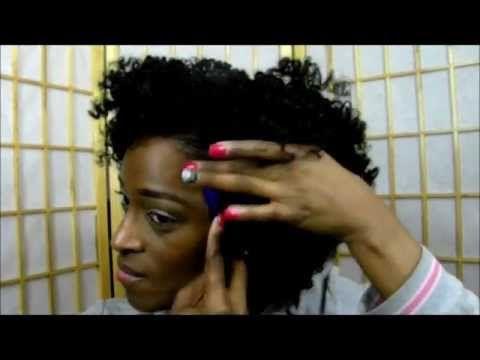 *143* Twist & Curl Tutorial (feat Cantu Shea Butter Twist & Lock Gel)-To...