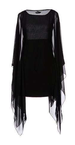 tunic with sheer batwing sleeves <3
