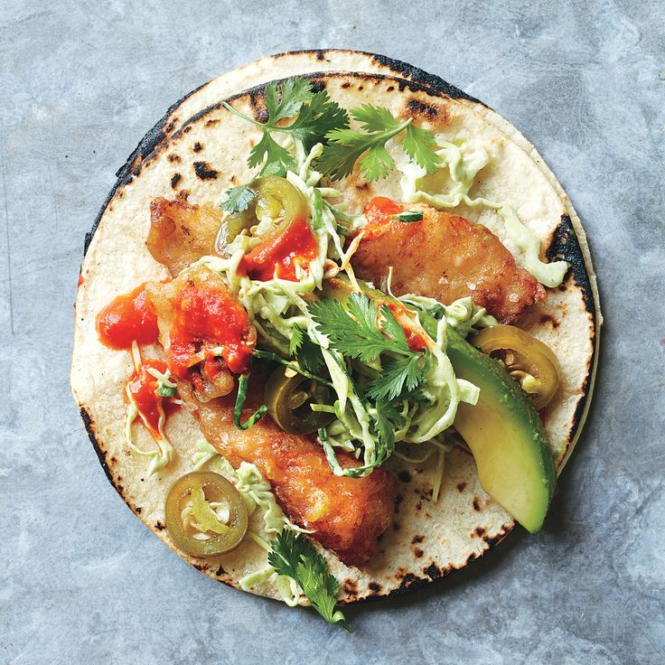 A taco dream come true crispy light as air fried fish for Fish taco recipe