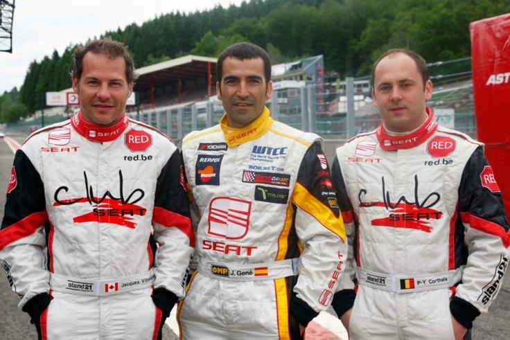 Jacques Villeneuve-Jordi Gené-Pierre Yves Corthals. 12 Hours Spa Francorchamps 2009