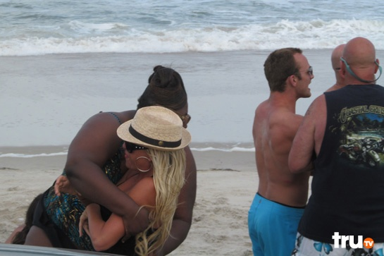 -Lizard Lick Towing: A Day At The Beach ... Big juicy.. she too funny
