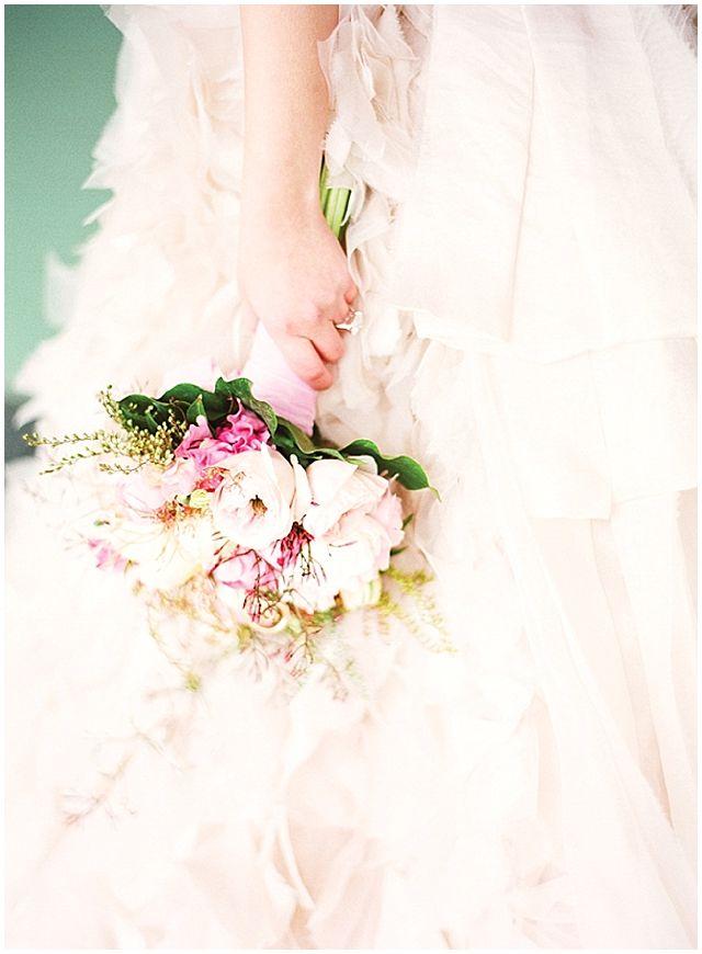Paris in the country...  http://katiestoops.com/Wedding Inspiration, Palest Pink, Ideas Blog, Dunes Robe, Flower Ideas, Chapple Flower, Wedding Flower, Gold Wedding, D Une Robe