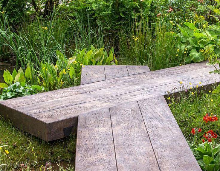 The Best Show Garden the Laurent-Perrier Chatsworth Garden by Dan Pearson