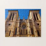 San Fernando Cathedral Texas. Jigsaw Puzzle