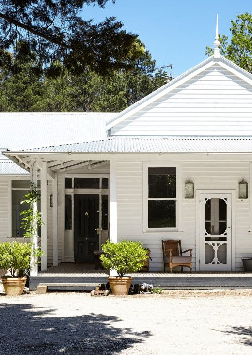 A look inside the landscape architect's renovated, Gold Rush-era home near Daylesford.