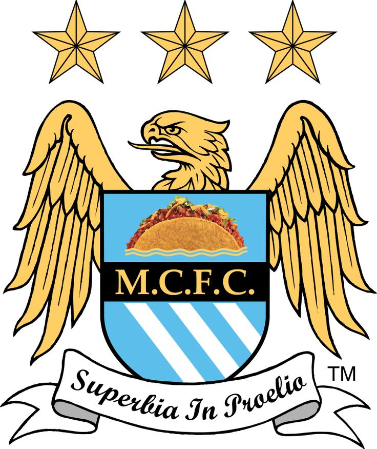 Manchester City Football Taco. #mcfc #manchestercity #manchester #mancity #football #soccer #taco #tacos #mexican #mexico #food