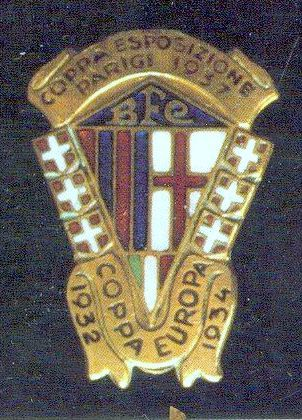 Bologna F.C. Palmares. Distintivo seconda metà anni '60