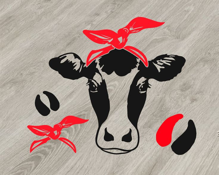 Download Bandana Svg Files Cow Free in 2020 | Cow, Svg file, Svg