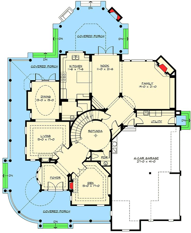 Award Winning Luxury House Plan: 2932 Best Floor Plans Images On Pinterest