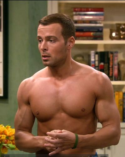 "joey lawrence. this is why i watch ""melissa & joey"" well, this and the sarcasm.  I can't get enough of either!"