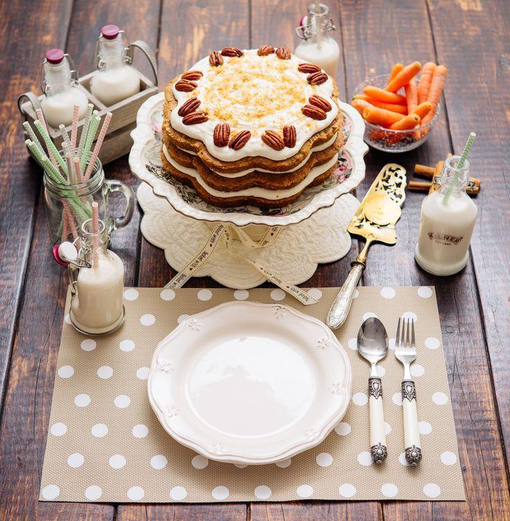 https://flic.kr/p/wh3r6f | Tarta de Zanahorias ó Carrot Cake | Blog Corazón de Caramelo www.corazondecaramelo.es