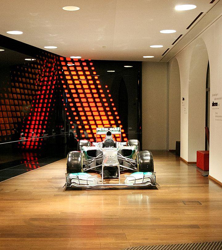 Mercedes showroom, Munich – Germany » Retail Design. Visit City Lighting Products! https://www.linkedin.com/company/city-lighting-products