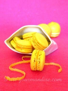 macarons au citron recette puregourmandise pure gourmandise