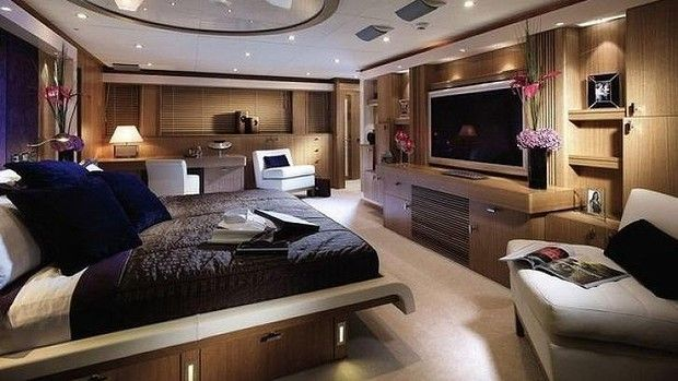 A suite inside Vivos Europa One, where super rich families can shelter from the end of the world, in style.