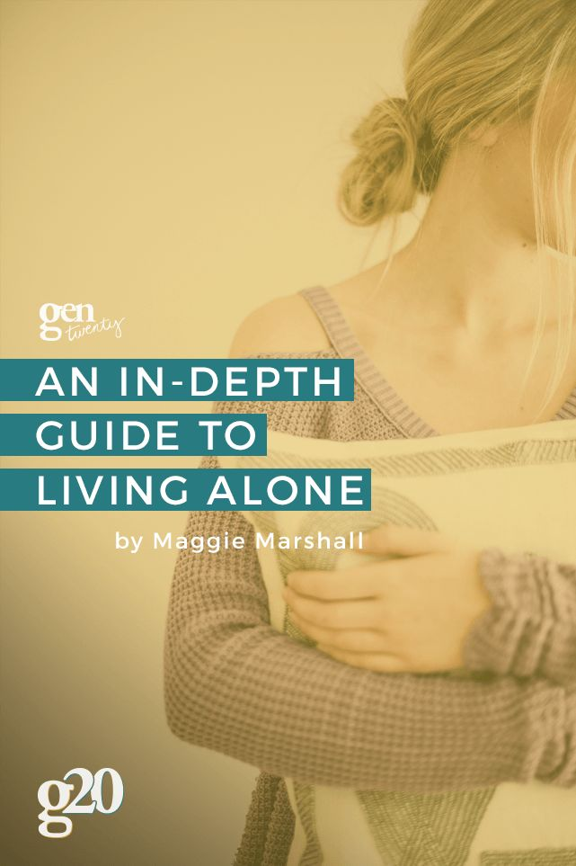 Living alone is fun! It's exciting! It's sometimes lonely, too. Check out our guide to living alone (and grab the free home cleaning checklist!)